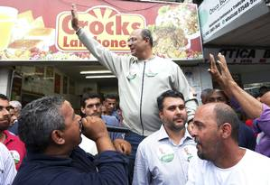 O candidato do PSC ao governo do Rio, Wilson Witzel Foto: Marcos Ramos / Agência O Globo