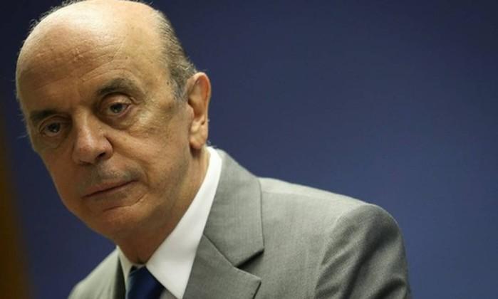 O senador José Serra (PSDB-SP) Foto: André Coelho / Agência O Globo