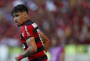 Lucas Paquetá não quis ouvir proposta de renovação do Flamengo Foto: Marcelo Theobald / O Globo