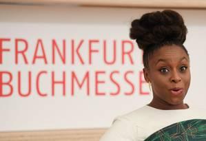 A escritora nigeriana Chimamanda Ngozi Adichie Foto: ARNE DEDERT / AFP