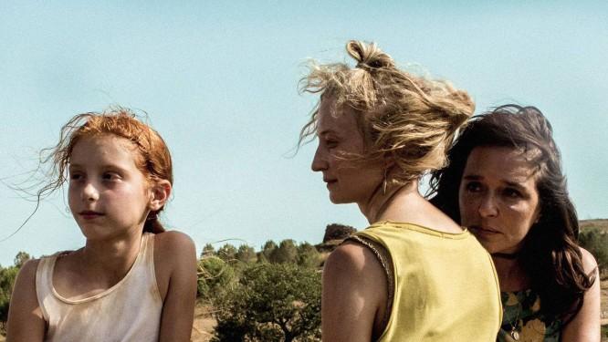 Sara Casu, Alba Rohrwacher e Valeria Golino: drama familiar Foto: Divulgação