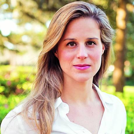 A escritora Lauren Groff, autora de