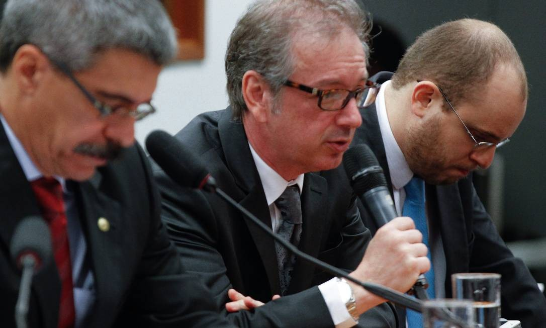 CPI da Petrobras. Sessão para o depoimento de Raul Henrique Srour 20/08/2015 Foto: André Coelho