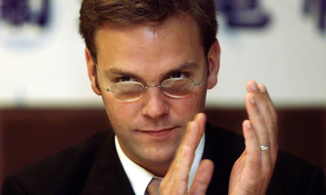 James Murdoch, filho caçula do magnata das comunicações Rupert Murdoch, deve ser indicado para substituir Elon Musk na presidência da Tesla Foto: SIMON KWONG / Reuters