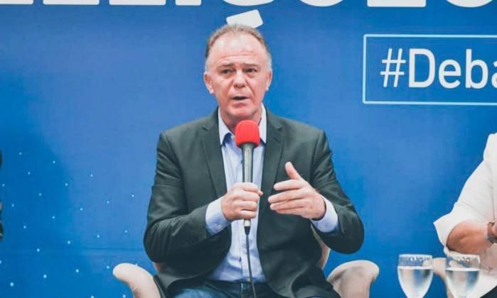 O governador eleito do Espírito Santo, Renato Casagrande Foto: Reprodução/Twitter