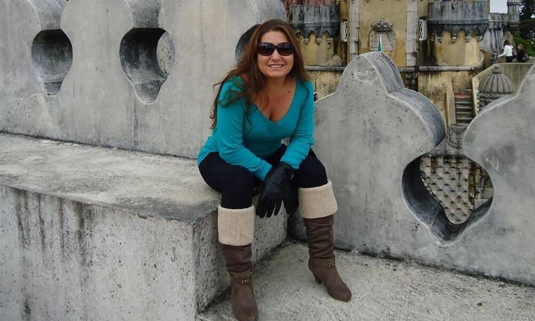 Dircelene Botelho, morta em Petrópolis Foto: Reprodução/Facebook