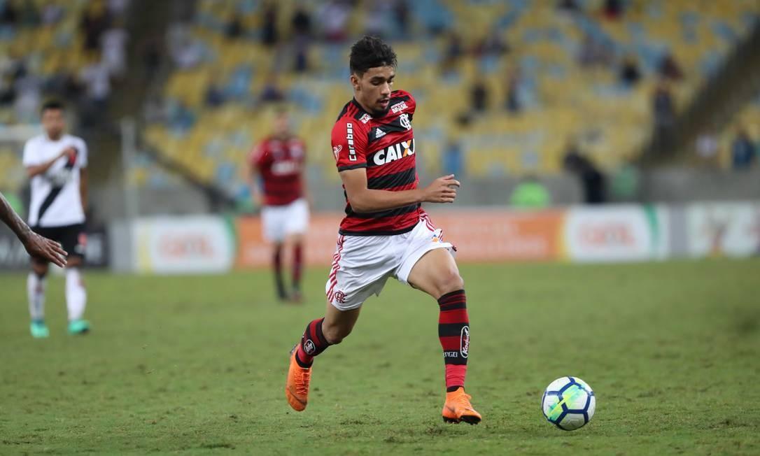 Paquetá em ação pelo Flamengo Foto: Divulgação