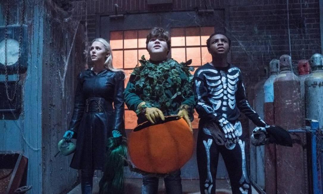 Madison Iseman, Jeremy Ray Taylor e Caleel Harris estrelam o filme Foto: Divulgação