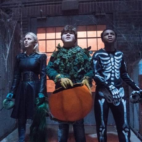 Madison Iseman, Jeremy Ray Taylor e Caleel Harris estrelam o filme Foto: Divulgação / Divulgação