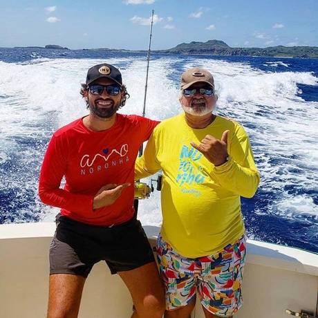 Toca Noronha e Zé Maria pescam os próprios peixes Foto: Divulgação