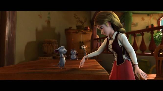 A animação reinventa a fábula desde os primeiros minutos Foto: Divulgação