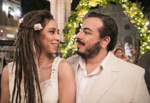 Clóvis (Luis Lobianco) e Gorete (Thalita Carauta) Foto: Divulgação/TV Globo