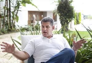 O presidente do PSL, Gustavo Bebiano 09/10/2018 Foto: Marcos Ramos / Agência O Globo