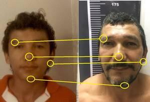 Agentes utilizaram técnicas de projeção de idade para capturar criminoso. Foto: Gilson Pegado da Silva Foto: Divulgação/Polícia Civil