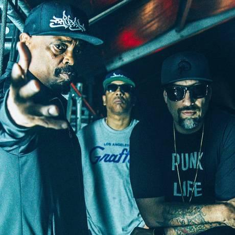 O grupo de hip-hop Cypress Hill toca no HUB-RJ Foto: Divulgação