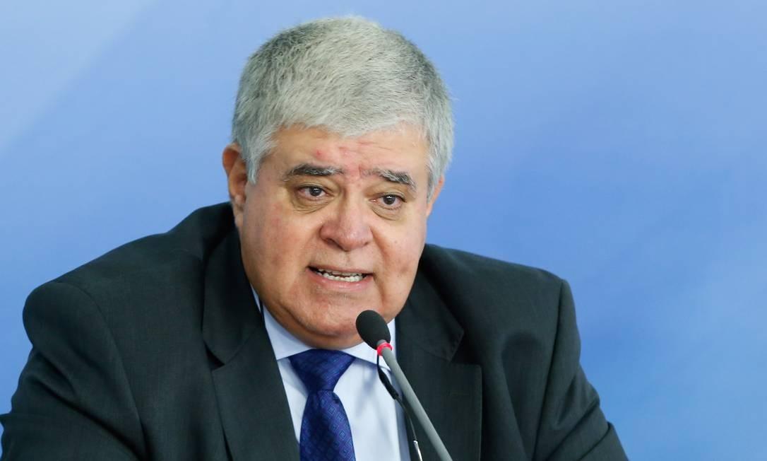 O ministro, Carlos Marum, da secretaria de governo Foto: Walterson Rosa / FramePhoto / Agência O Globo