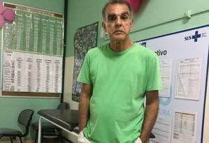O aposentado Carlos Gomes Foto: Dayana Resende