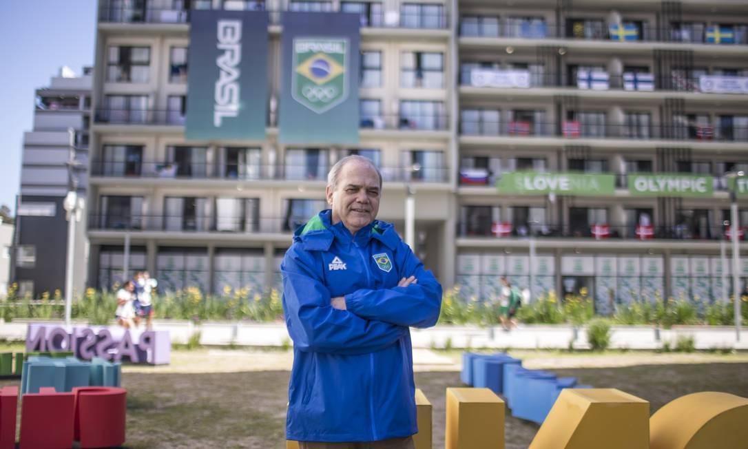 Paulo Wanderley completa um ano à frente do COB Foto: Jonne Roriz/COB/Divulgação