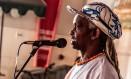 Moa do Katendê foi um dos criadores do bloco Afoxé Badauê, que passou a arrastar multidões no Carnaval baiano a partir de 1979 Foto: Rede Brasil de Festival / Rede Brasil de Festival