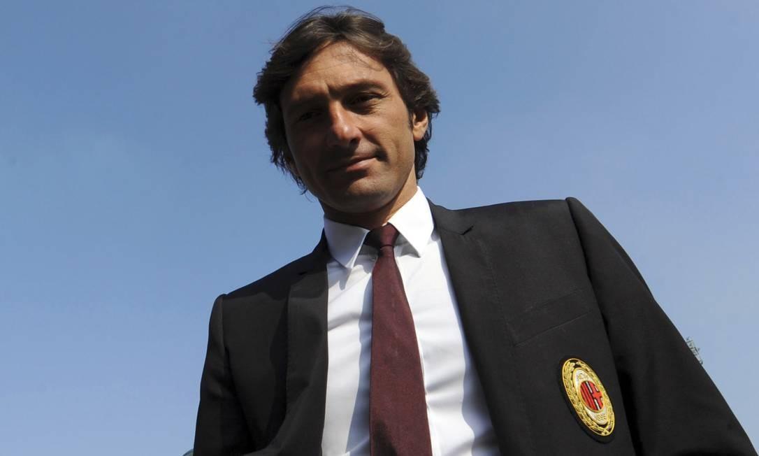 Leonardo é dirigente do Milan Foto: Paolo Bona / REUTERS