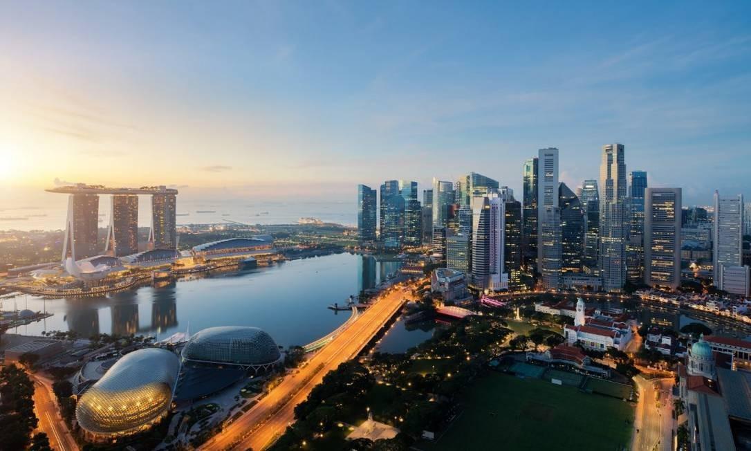 Vista aérea de Cingapura Foto: Arquivo