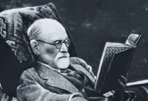 O médico Sigmund Freud, criador da psicanálise. A alta tensão da política no Brasil dá trabalho a seus seguidores Foto: SIGMUND FREUD COPYRIGHTS/ ULLSTEIN BILD VIA GETTY IMAGES