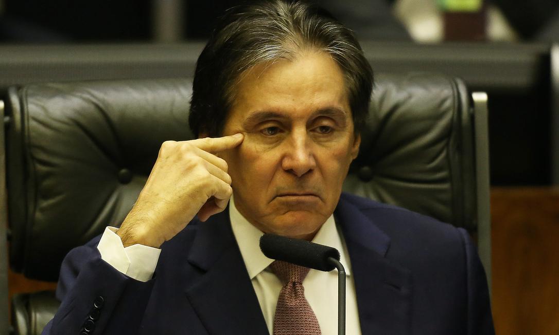 Eunício Oliveira Foto: Aílton de Freitas / Agência O Globo