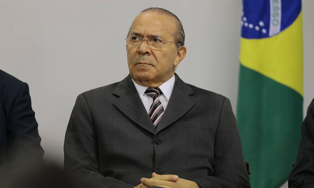 O ministro da Casa Civil, Eliseu Padilha, durante cerimônia no Palácio do Planalto Foto: Jorge William/Agência O Globo/27-09-2018