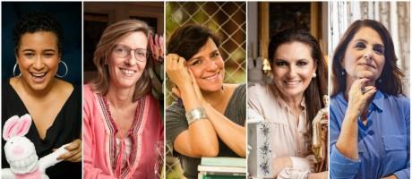 Fernanda, Gabriella, Karla, Cris e Martha contaram suas histórias Foto: Montagem sobre fotos