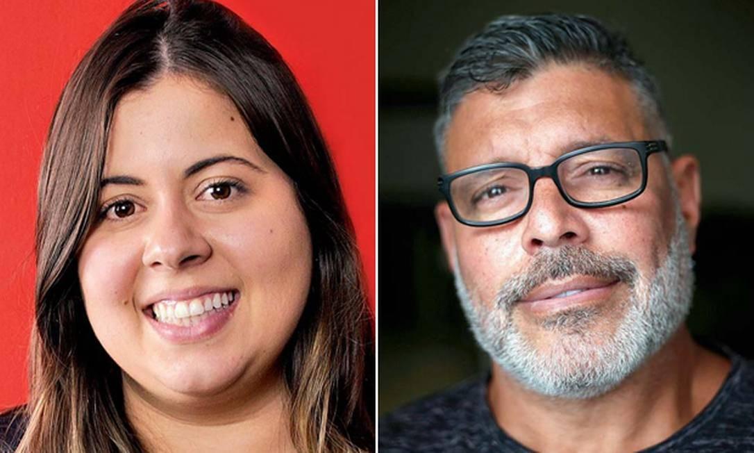 Sâmia Bomfim e Alexandre Frota Foto: Marcos Alves / Editora Brasil 247/Agência O Globo