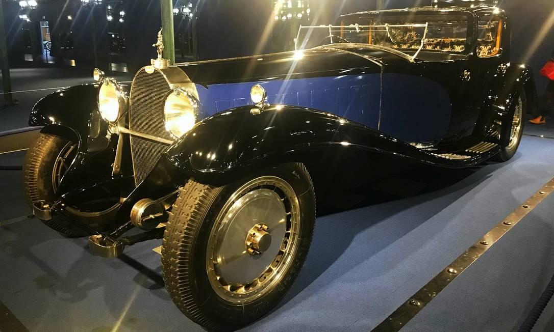Estrela máxima da coleção Schlumpf, este Royale pertenceu a Ettore Bugatti Jason Vogel / Jason Vogel