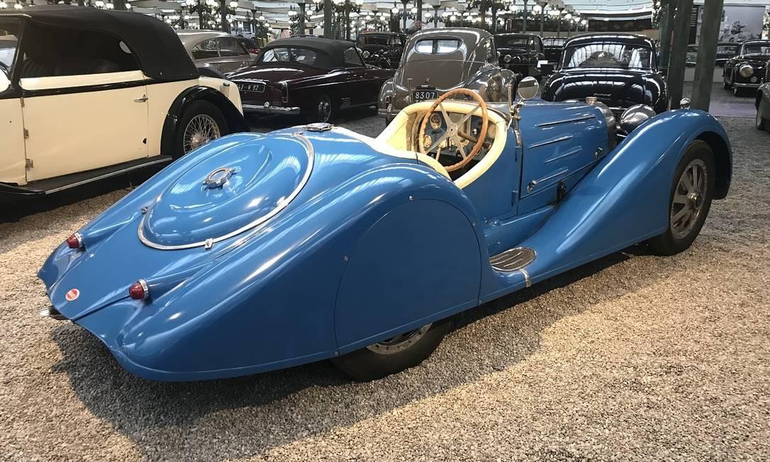 Um dos Bugatti mais elegantes à mostra é este 35B de 1927 encarroçado para uso na rua. Fazia 210km/h Jason Vogel / Jason Vogel