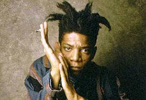 Basquiat morreu jovem, aos 27 anos, mas deixou vasta obra produzida em poucos oitos anos de carreira Foto: Divulgação