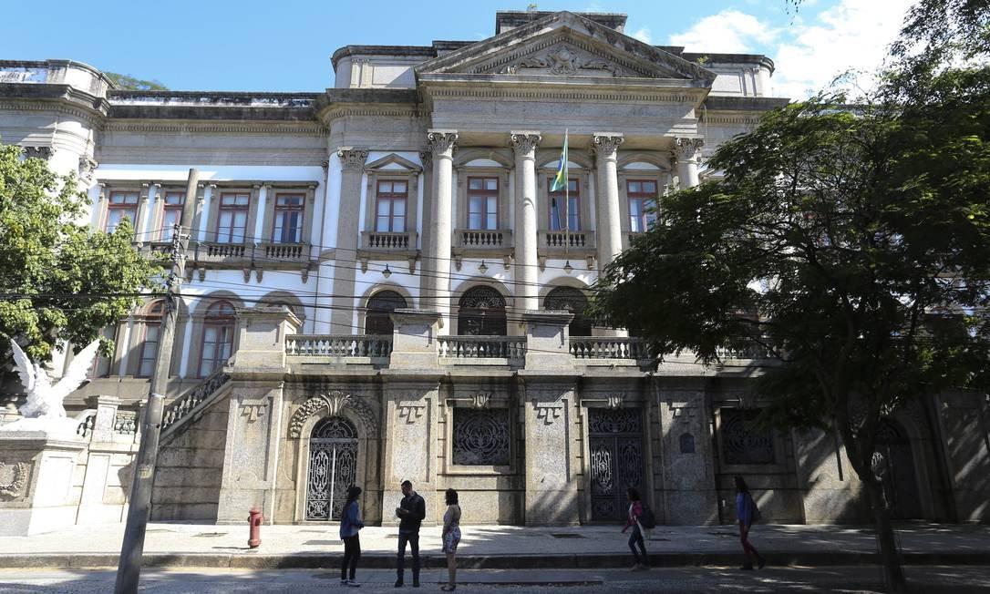 Modernidade e tradição. A recuperação da fachada do Museu de Ciências da Terra fará parte da reforma Foto: Márcia Foletto / Agência O Globo