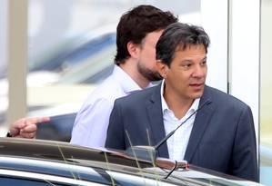 O candidato à Presidência da República pelo PT, Fernando Haddad 11/10/2018 Foto: Givaldo Barbosa / Agência O Globo