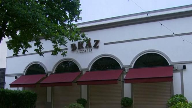 Pizzaria Bráz, na Barra, é assalta pela segunda vez Foto: Reprodução