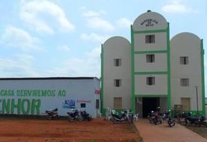 Igreja evangélica em São Pedro dos Crentes (MA) Foto: Reprodução/Facebook