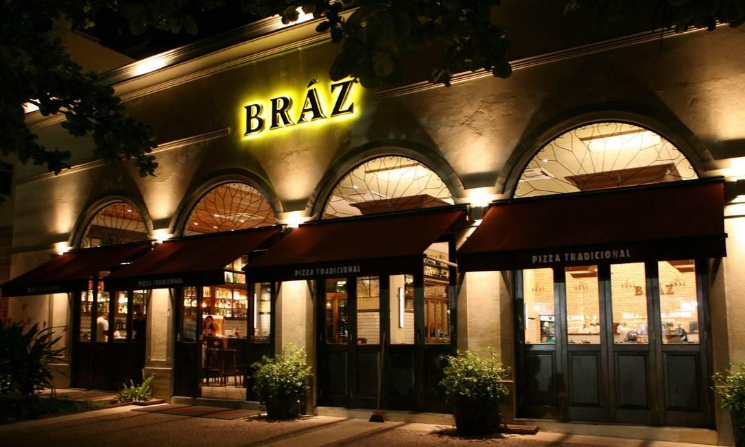 Pizzaria Bráz na Barra da Tijuca, Zona Oeste do Rio Foto: Berg Silva / O Globo
