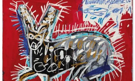 'Red Rabbit', de Basquiat Foto: Divulgação