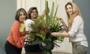 Isabela Haschelevici, Daniela Zabludowski e Caroline Svacina são sócias na 3concierge, empresa especializada na administração de residências de proprietarios emigrantes Foto: Leo Martins / Agência O Globo