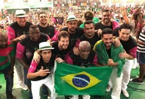 Compositores do samba-enredo escolhido para o carnaval 2019 da Mangueira Foto: Reprodução