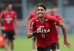 Lucas Paquetá tem até mais nove jogos antes de trocar o Flamengo pelo Milan Foto: Gilvan de Souza / Agência O Globo