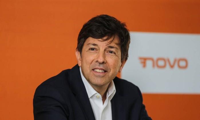Candidato à Presidência pelo Novo, João Amoêdo recebeu 2,7 milhões de votos e ficou em quinto lugar Foto: Geraldo Bubniak / AGB / Agência O Globo
