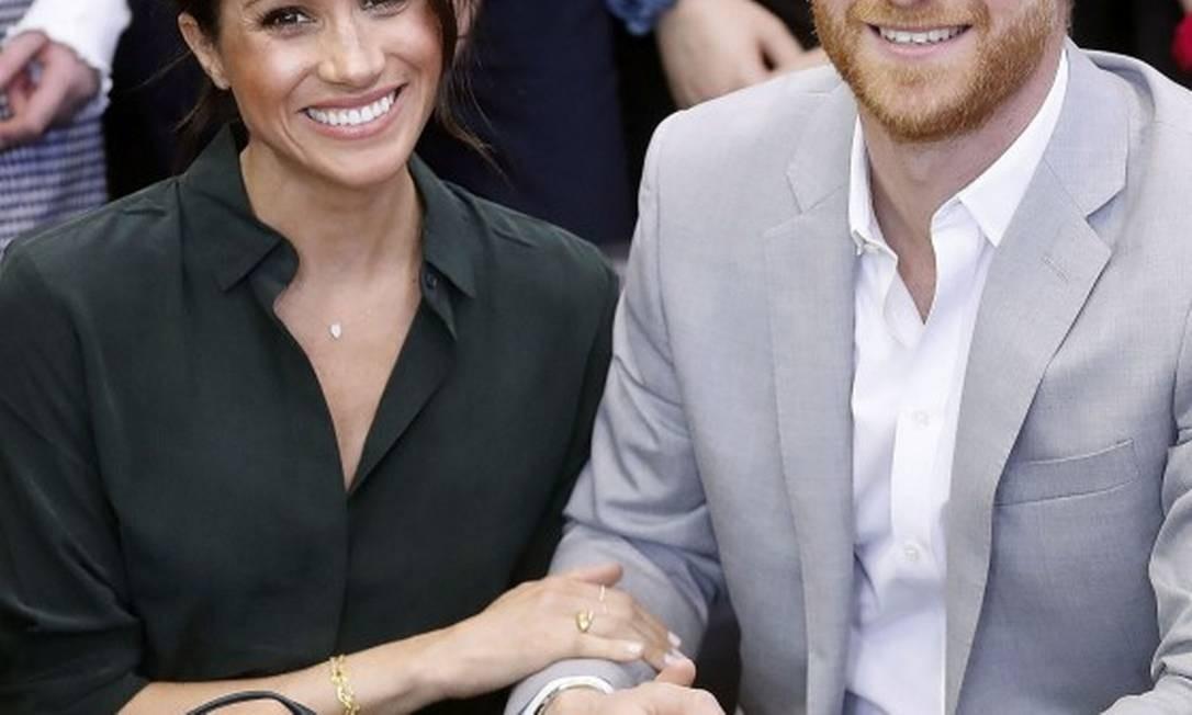 Harry e Meghan Foto: CHRIS JACKSON / AFP