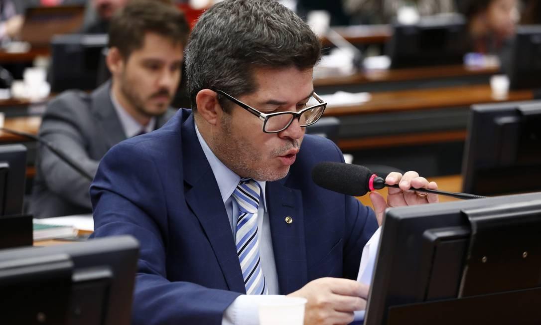 O deputado federal delegado Waldir (PSL-GO) Foto: Cleia Viana / Câmara dos Deputados
