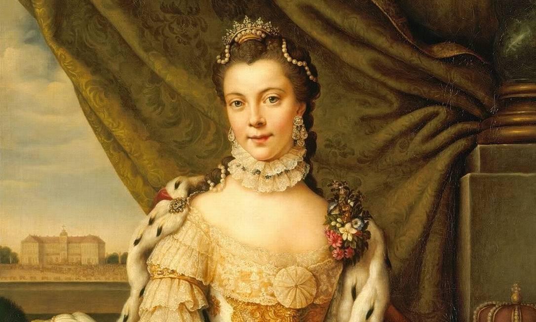 A rainha Charlotte na juventude: ascendência africana, segundo historiadores Foto: Domínio público