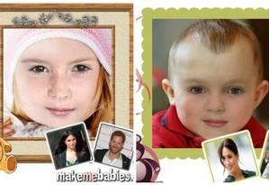 Especialistas analisaram como deve ser a aparência do novo bebê real Foto: Reprodução