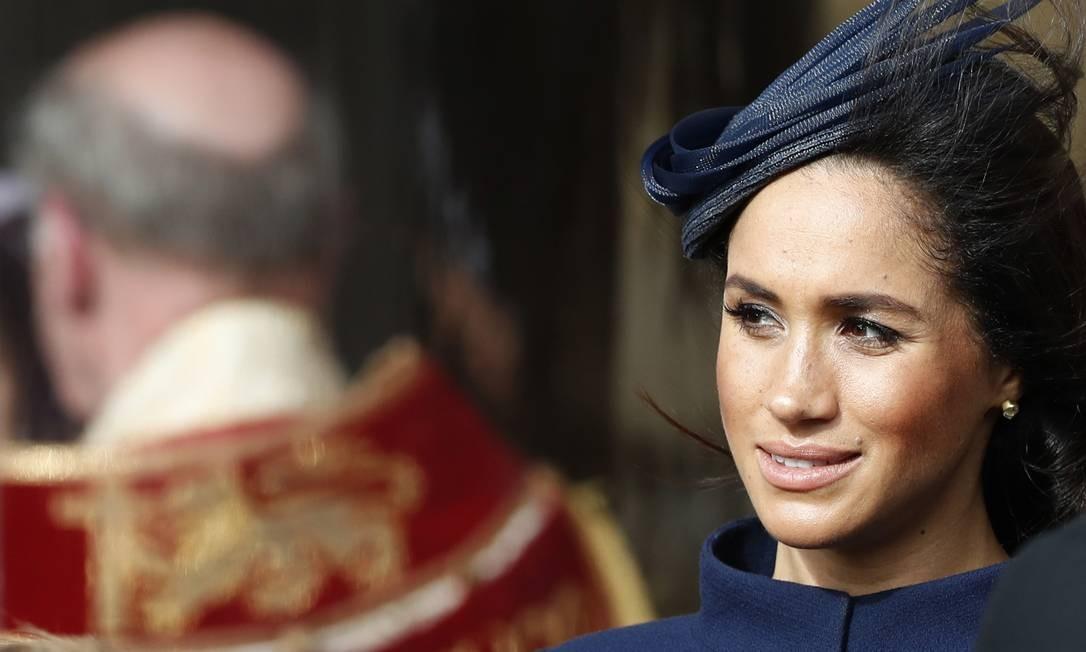 Duquesa de Sussex, Meghan Markle está grávida do seu primeiro filho Foto: ALASTAIR GRANT / AFP