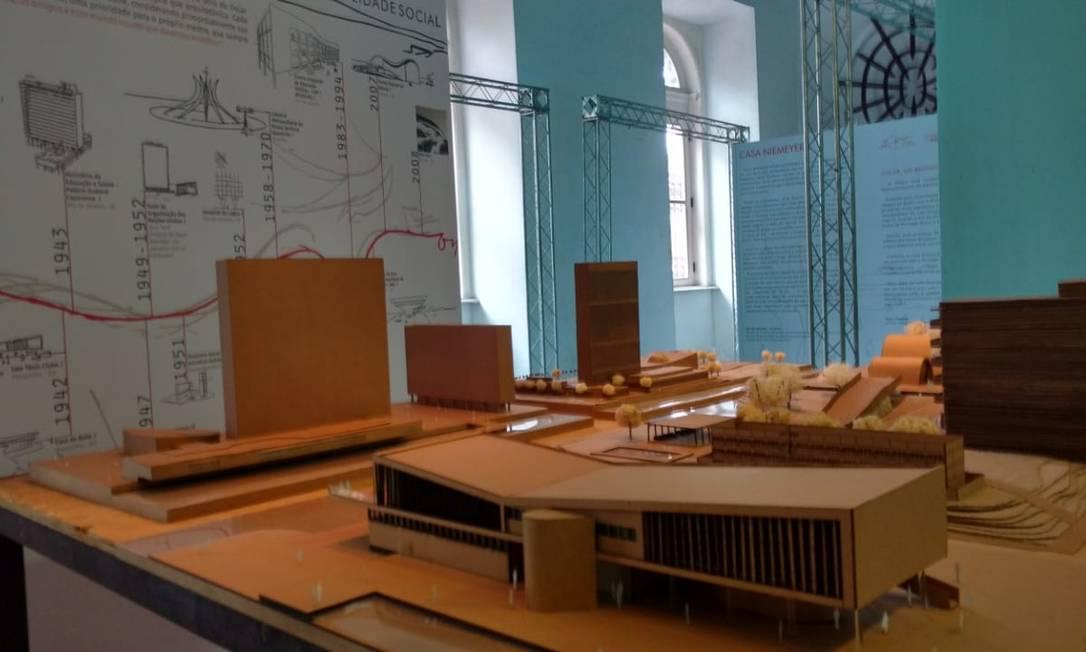 A Casa França-Brasil exibirá a Casa Niemeyer: entre os destaques da mostra está a obra de Oscar Niemeyer pela perspectiva de estudantes selecionados em universidades do Rio Foto: Divulgação