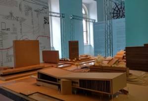 A Casa França-Brasil exibirá, até o dia 15 de dezembro, a Casa Niemeyer: entre os destaques da mostra está a obra de Oscar Niemeyer pela perspectiva de estudantes selecionados em universidades do Rio Foto: Divulgação